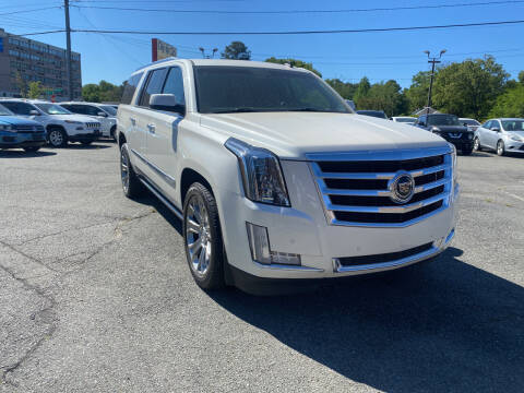 2015 Cadillac Escalade ESV for sale at City to City Auto Sales in Richmond VA