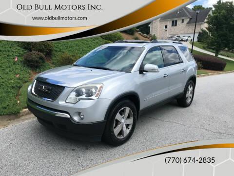 2011 GMC Acadia for sale at Old Bull Motors Inc. in Snellville GA