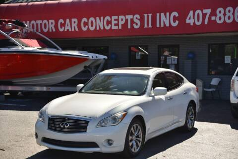 2012 Infiniti M37 for sale at Motor Car Concepts II - Apopka Location in Apopka FL