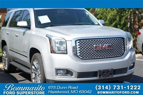 2017 GMC Yukon for sale at NICK FARACE AT BOMMARITO FORD in Hazelwood MO