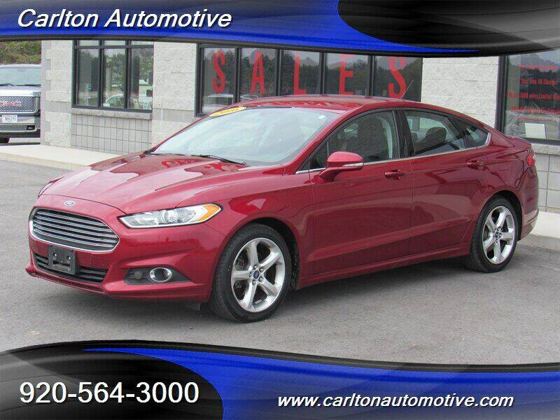 2016 Ford Fusion for sale at Carlton Automotive Inc in Oostburg WI