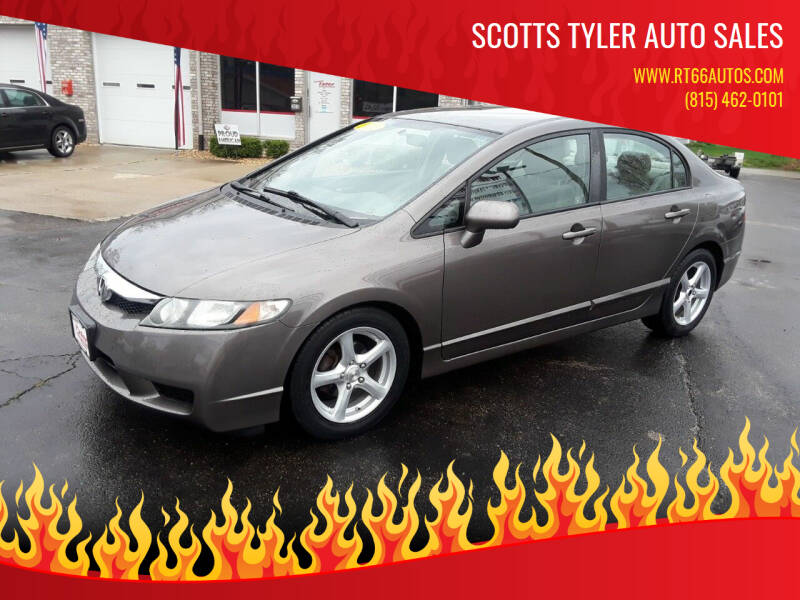 2010 Honda Civic for sale at Scotts Tyler Auto Sales in Wilmington IL