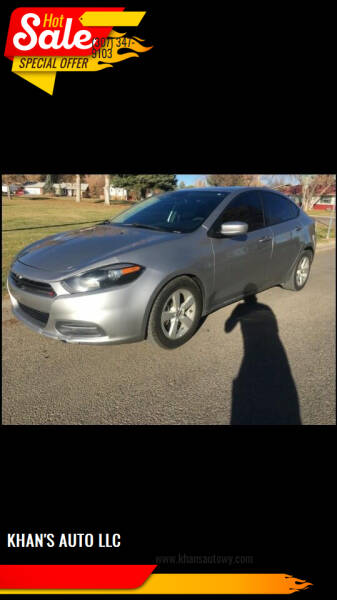 2016 Dodge Dart for sale at KHAN'S AUTO LLC in Worland WY