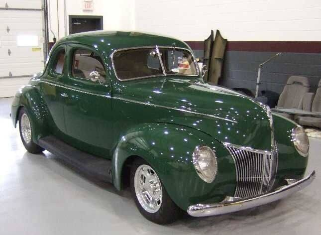 1939 Ford Deluxe for sale at AB Classics in Malone NY
