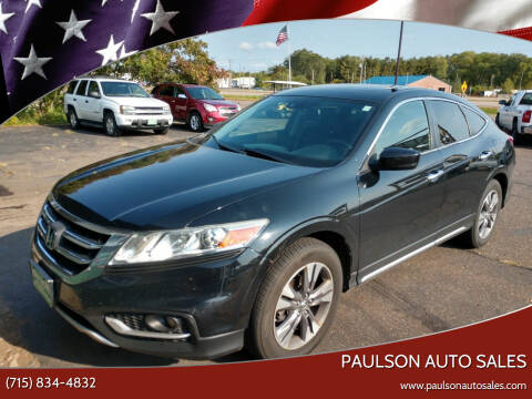 2013 Honda Crosstour for sale at Paulson Auto Sales in Chippewa Falls WI