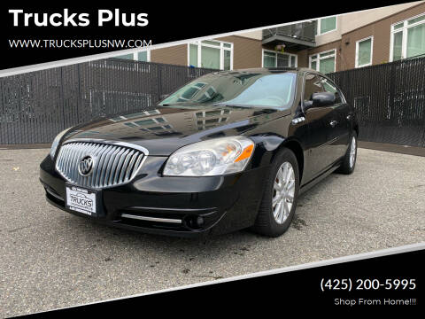 2011 Buick Lucerne for sale at Trucks Plus in Seattle WA