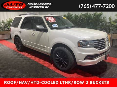 2016 Lincoln Navigator for sale at Auto Express in Lafayette IN