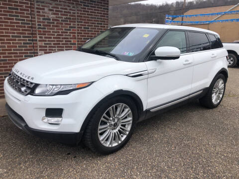 2013 Land Rover Range Rover Evoque for sale at MYERS PRE OWNED AUTOS & POWERSPORTS in Paden City WV