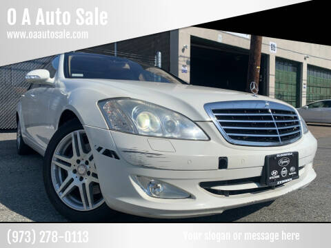 2007 Mercedes-Benz S-Class for sale at O A Auto Sale in Paterson NJ