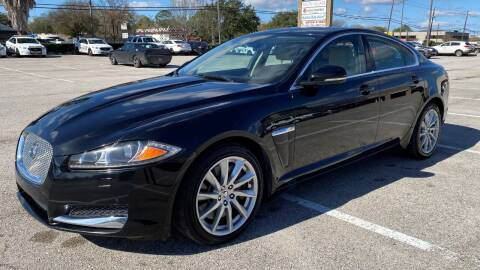 2013 Jaguar XF for sale at T.S. IMPORTS INC in Houston TX