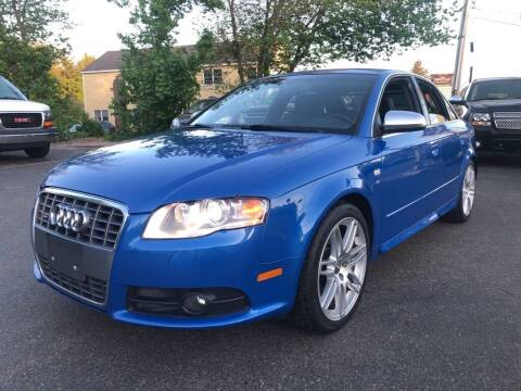2008 Audi S4 for sale at RT28 Motors in North Reading MA