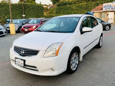 2011 Nissan Sentra for sale at MotorMax in Lemon Grove CA