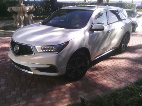 2018 Acura MDX for sale at JOE BULLARD USED CARS in Mobile AL