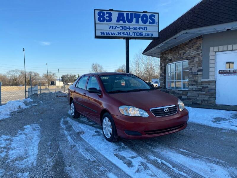 2005 Toyota Corolla for sale at 83 Autos in York PA