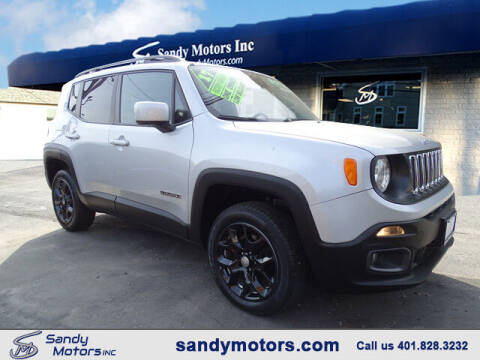 2017 Jeep Renegade for sale at Sandy Motors Inc in Coventry RI