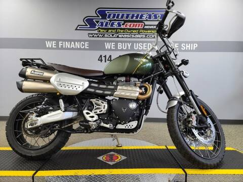 2019 Triumph Scrambler 1200 XC Showcase for sale at Southeast Sales Powersports in Milwaukee WI