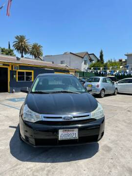 2008 Ford Focus for sale at Good Vibes Auto Sales in North Hollywood CA