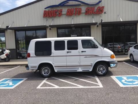 1998 Dodge Ram Van for sale at DOUG'S AUTO SALES INC in Pleasant View TN