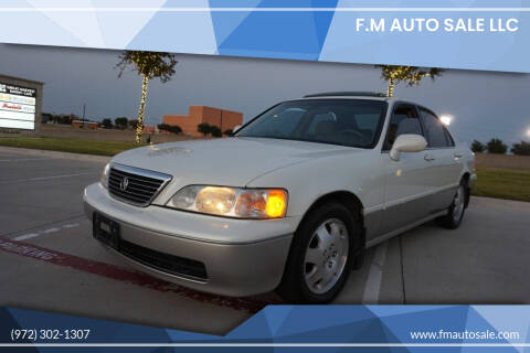 1998 Acura RL for sale at F.M Auto Sale LLC in Dallas TX