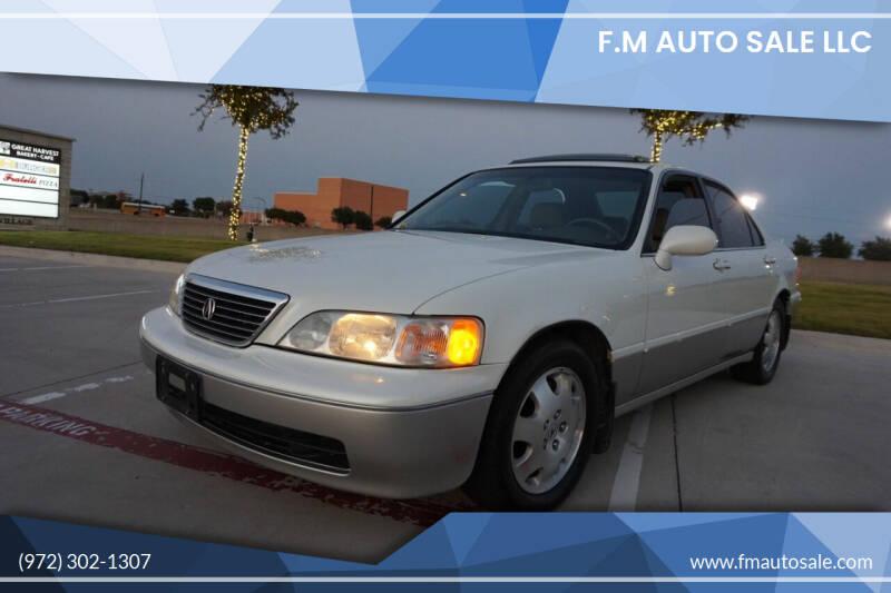 1998 Acura RL for sale at F.M Auto Sale LLC in Dallas TX
