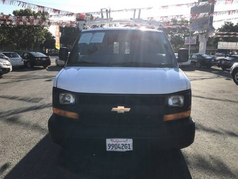 2012 Chevrolet Express Cargo for sale at EXPRESS CREDIT MOTORS in San Jose CA