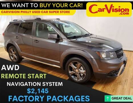 2015 Dodge Journey for sale at Car Vision Mitsubishi Norristown - Car Vision Philly Used Car SuperStore in Philadelphia PA