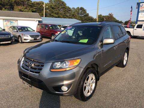 2011 Hyundai Santa Fe for sale at U FIRST AUTO SALES LLC in East Wareham MA