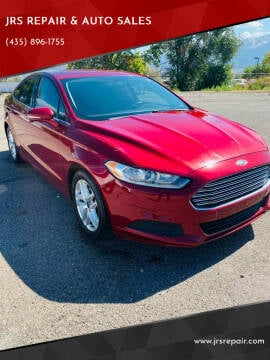 2015 Ford Fusion for sale at JRS REPAIR & AUTO SALES in Richfield UT