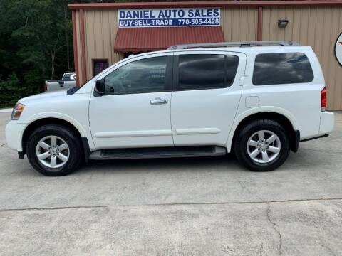 2015 Nissan Armada for sale at Daniel Used Auto Sales in Dallas GA