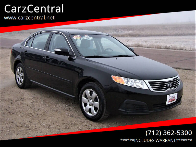 2010 Kia Optima for sale at CarzCentral in Estherville IA