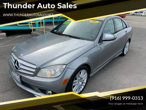 2009 Mercedes-Benz C-Class for sale at Thunder Auto Sales in Sacramento CA