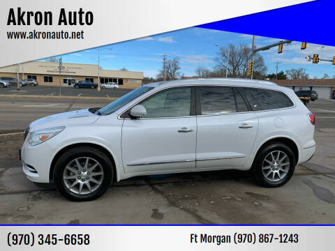 2016 Buick Enclave for sale at Akron Auto in Akron CO