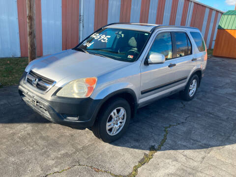 2003 Honda CR-V for sale at Country Auto Sales Inc. in Bristol VA