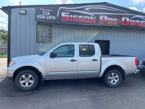 2009 Nissan Frontier for sale at Sisson Pre-Owned in Uniontown PA