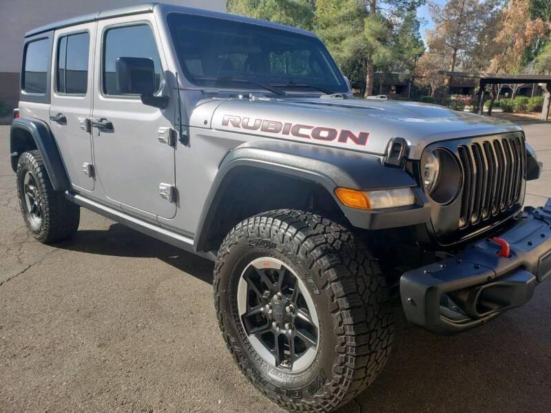 2018 Jeep Wrangler Unlimited for sale at Arizona Auto Resource in Tempe AZ
