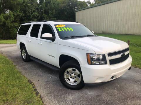 2014 Chevrolet Suburban for sale at J. MARTIN AUTO in Richmond Hill GA