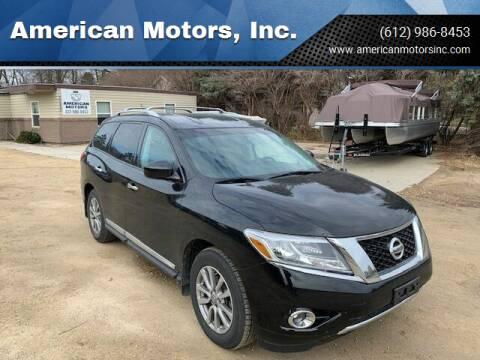 2015 Nissan Pathfinder for sale at American Motors, Inc. in Farmington MN