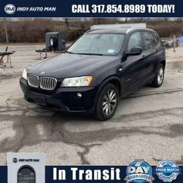 2013 BMW X3 for sale at INDY AUTO MAN in Indianapolis IN