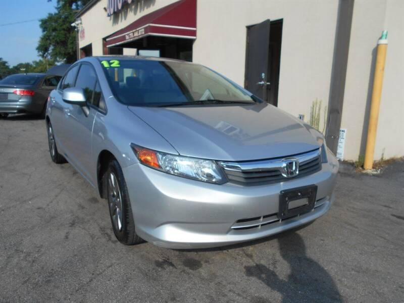2012 Honda Civic for sale at AutoStar Norcross in Norcross GA
