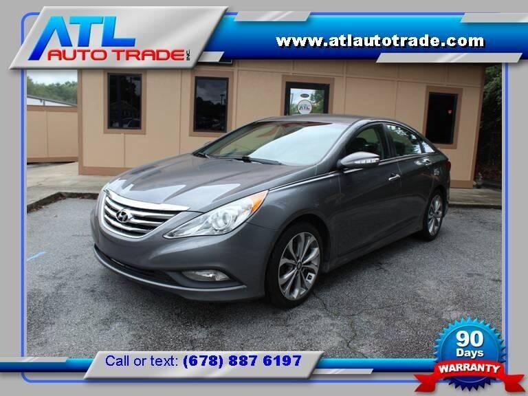 2014 Hyundai Sonata for sale at ATL Auto Trade, Inc. in Stone Mountain GA