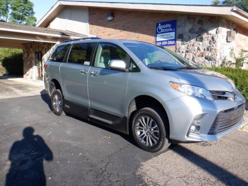 2019 Toyota Sienna for sale at Mobility Motors LLC - A Wheelchair Van in Battle Creek MI