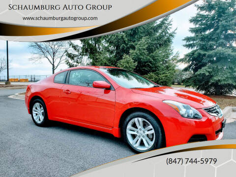 2010 Nissan Altima for sale at Schaumburg Auto Group in Schaumburg IL