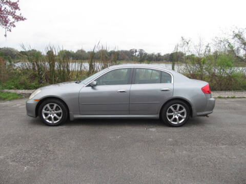 2006 Infiniti G35 for sale at Orlando Auto Motors INC in Orlando FL