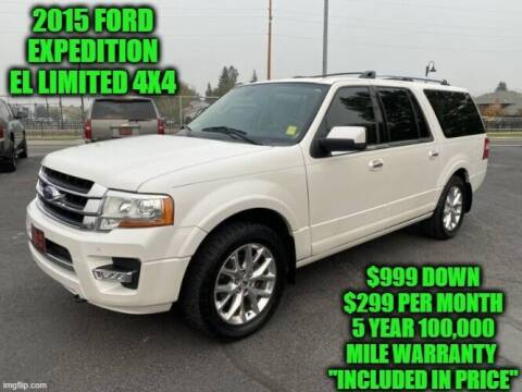 2015 Ford Expedition EL for sale at D&D Auto Sales, LLC in Rowley MA