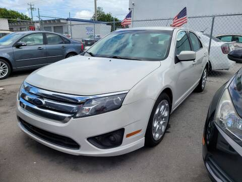 2011 Ford Fusion for sale at All Around Automotive Inc in Hollywood FL
