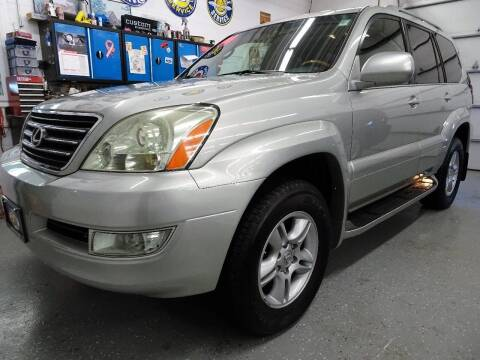 2004 Lexus GX 470 for sale at Great Lakes Classic Cars & Detail Shop in Hilton NY