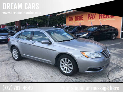 2013 Chrysler 200 for sale at DREAM CARS in Stuart FL