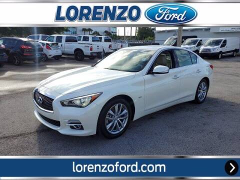 2017 Infiniti Q50 for sale at Lorenzo Ford in Homestead FL