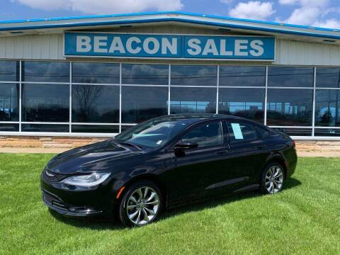 2015 Chrysler 200 for sale at BEACON SALES & SERVICE in Charlotte MI