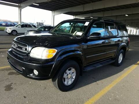 2002 Toyota Sequoia for sale at MOUNT EDEN MOTORS INC in Bronx NY